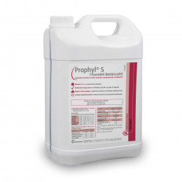 Disinfectant solution for boot disinfection mat 5L