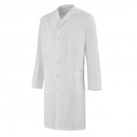 Butcher white cotton coat