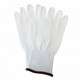 Knitted thermal gloves