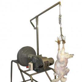 Gantry for MP11 dry plucking machine