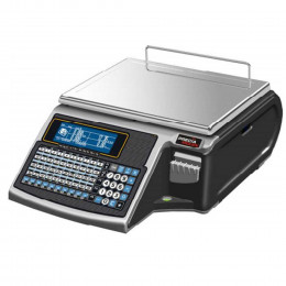 Label or receipt printing scale